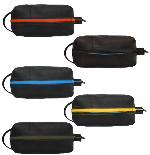 09541cb869ac The Elliott Travel Toiletry Kit Bag in NEW Colors - Made from Recycled  Inner Tube Rubber