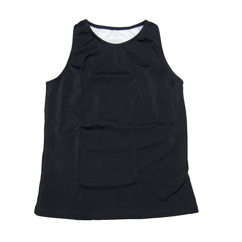 The Flatsea - Full Compression Swim Tank in Black