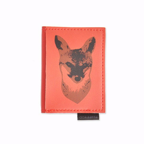 Vegan Mini Wallet - Fox