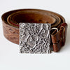 Pewter Belt Buckle - Hickory