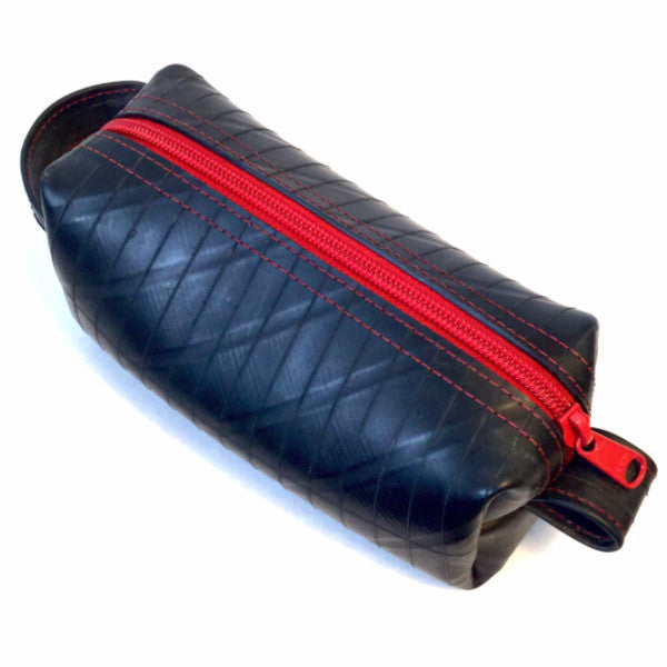 Elliott Mini Travel Toiletry Bag in NEW Colors - Made from Recycled Truck Tubes