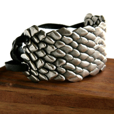 Pewter Wrist Cuff -  Spearhead