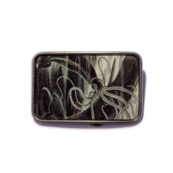 Belt Buckle - Squid