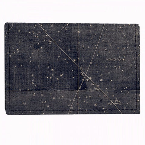 Leather Wallet / Card Case - Star Map