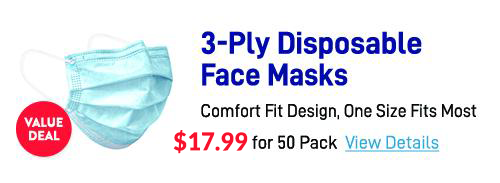 save on 3 ply masks