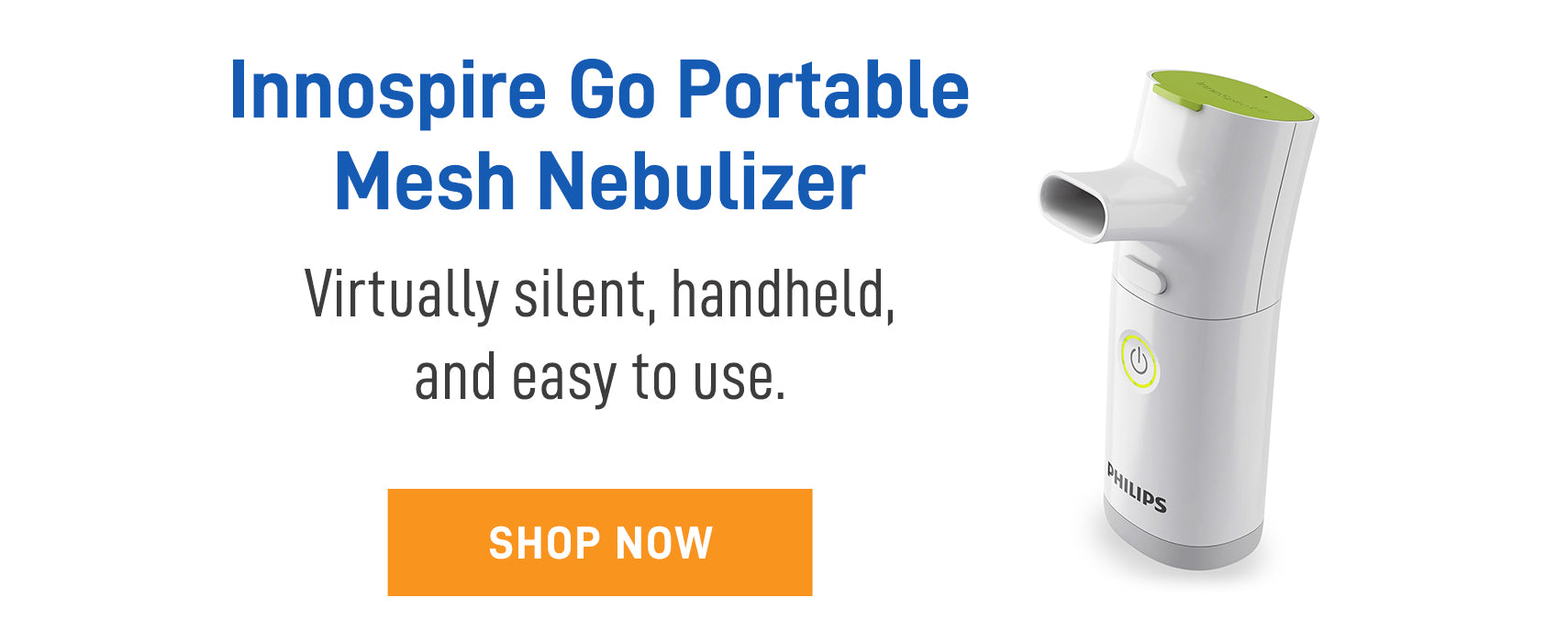 Innospire Go Portable mesh Nebulizer for on-the-go QUALITY treatments