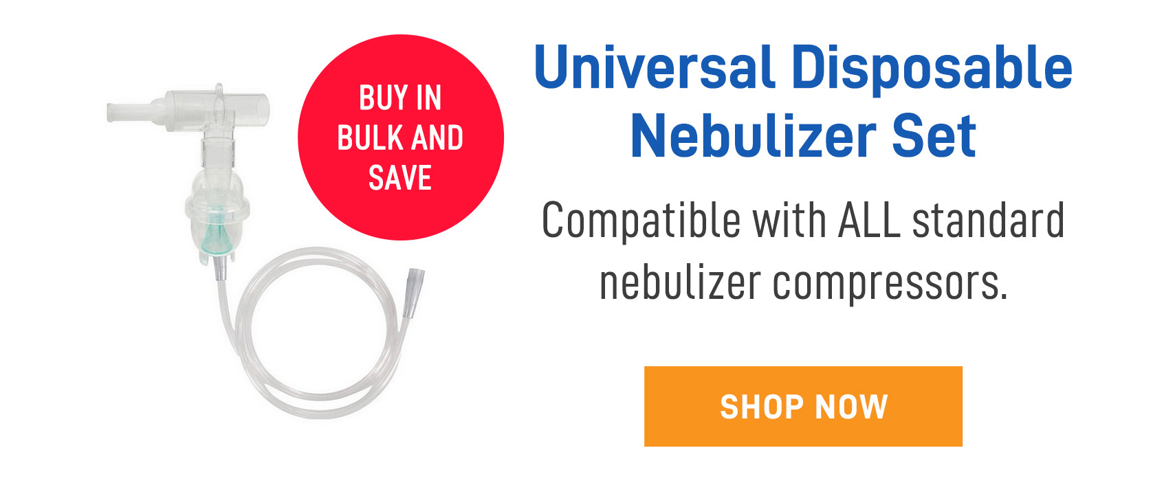 Universal nebulizer set