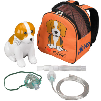Drive Beagle Pediatric Nebulizer System - With all the accessories