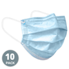 3 Ply Disposable Face Masks with Elastic Ear Loops