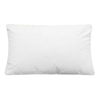 Breathable Waterproof  Zippered Pillow Cover - Standard Size (2 Pack)
