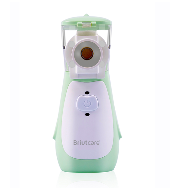 Smart Mesh Nebulizer by Briutcare-Green
