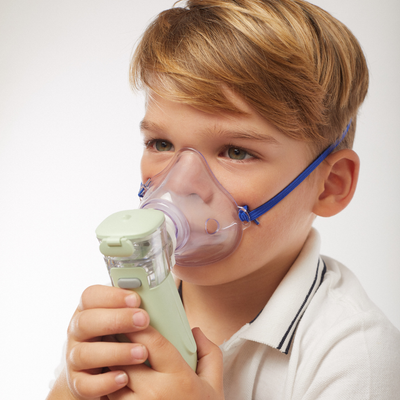 Smart Mesh Nebulizer by Briutcare - Used with a mask