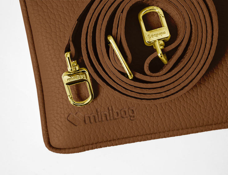 minibag cognac Edition GOLD