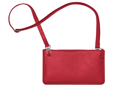 minibag metallic red