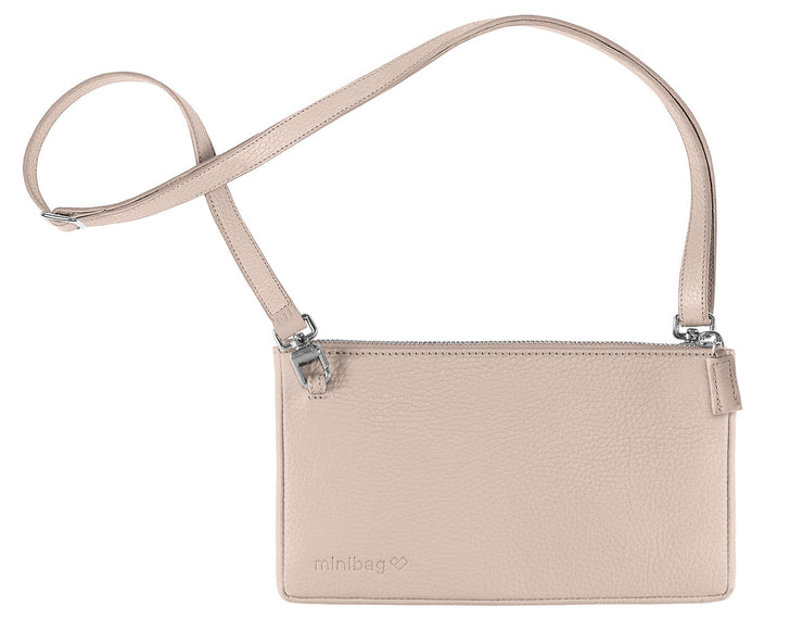 minibag nude + Wallet