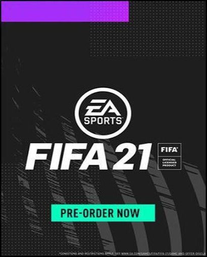 FIFA 21 PRE-ORDER Origin CD Key