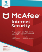 McAfee Internet Security 2020 - 3 Devices / 1 Year