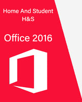 MS Office 2016 H&S Retail Key