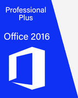 MS Office 2016 Pro Plus Retail Key