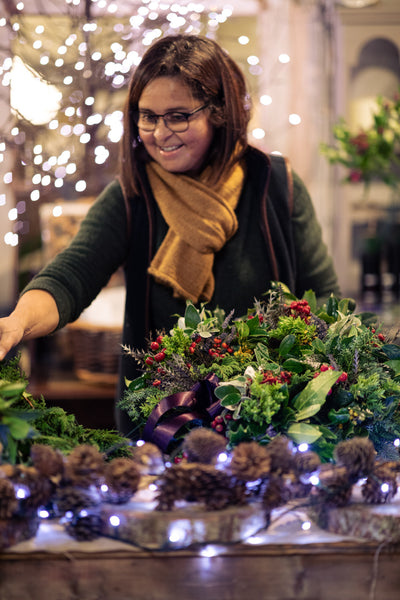 Christmas Flower Workshops with Carmen Campbell