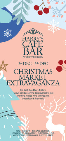 Christmas market dates times cafe open food event