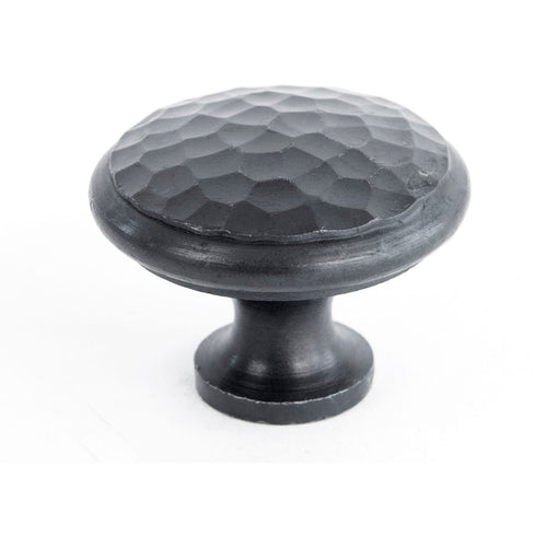 Large Beeswax beaten cupboard knob 33198