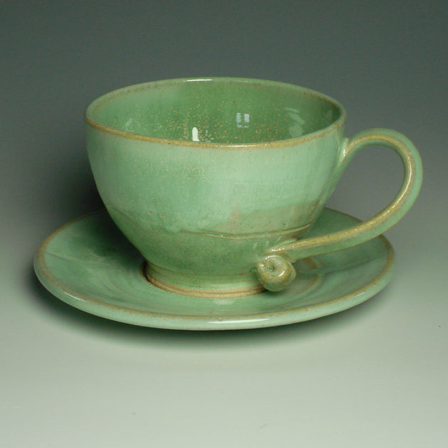 Cappucinno Cup and Saucer
