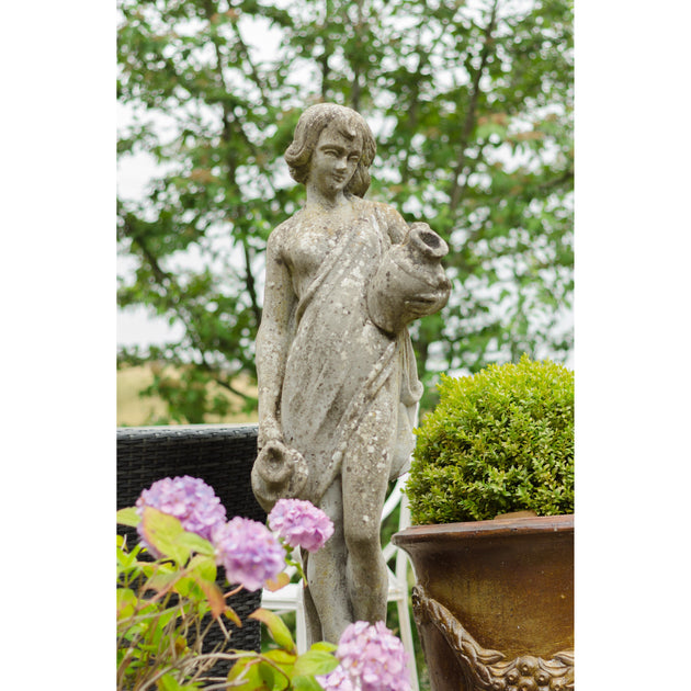 Statue of a girl holding two water jars