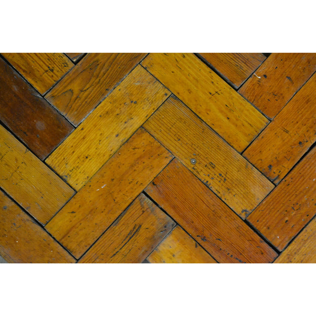 Reclaimed timber flooring