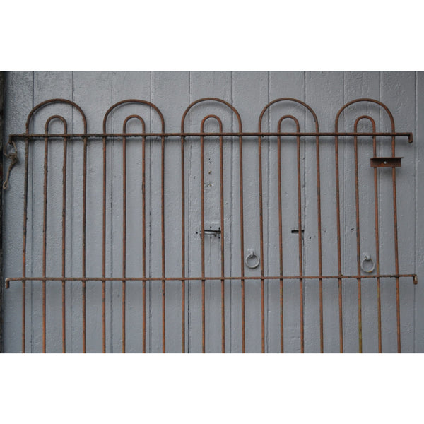 19th Century Wrought Iron Kennel Railings