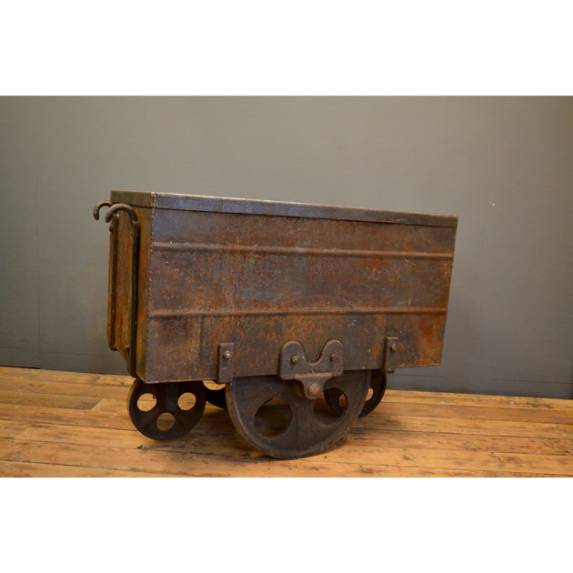 20thC industrial trolley