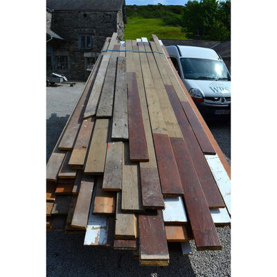 reclaimed victorian pine floorboards