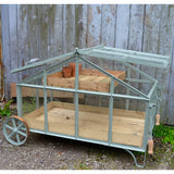 wheeled greenhouse Victorian style mobile green house