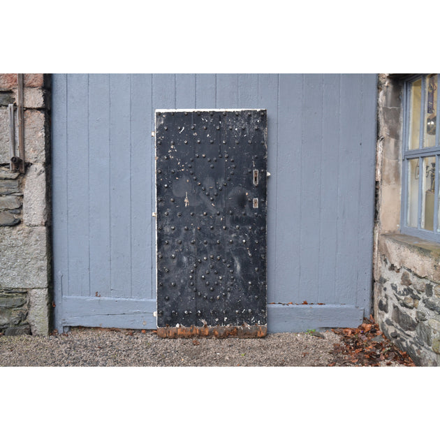 An early 17th C Westmorland studded barn door