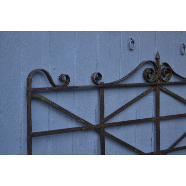Reclaimed Georgian Wrought Iron Estate Gate