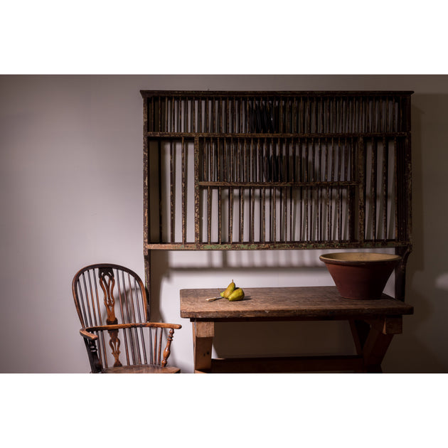 Country House Kitchen Plate Rack.
