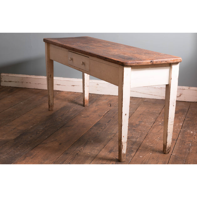 Pine Topped Serving Table