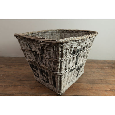 Reclaimed Wicker Mill Basket
