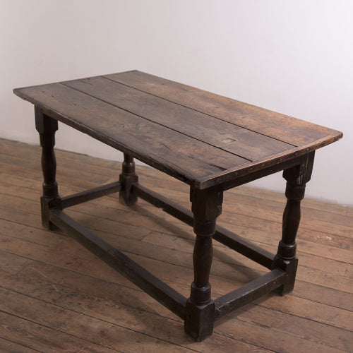 17thC Westmorland Oak Refectory Table