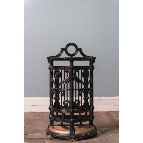 Cast Iron Stick Stand by Christopher Dresser
