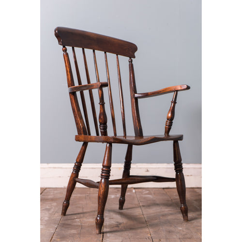 Stick back Windsor armchair