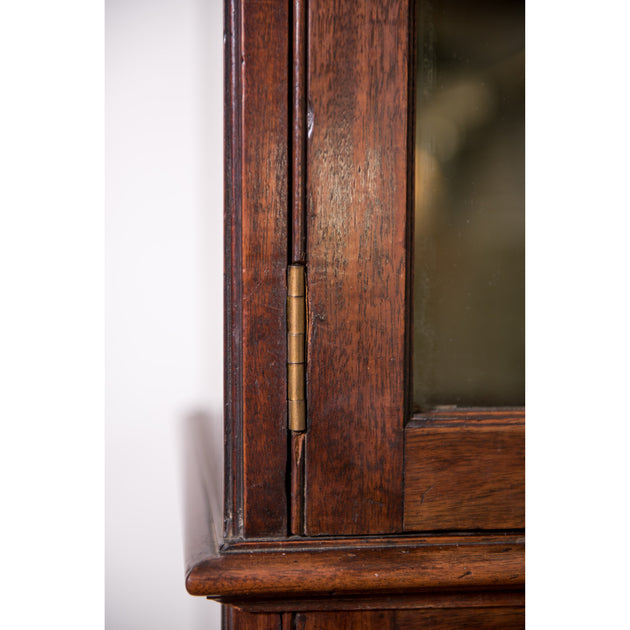George III Mahogany Glazed Bookcase