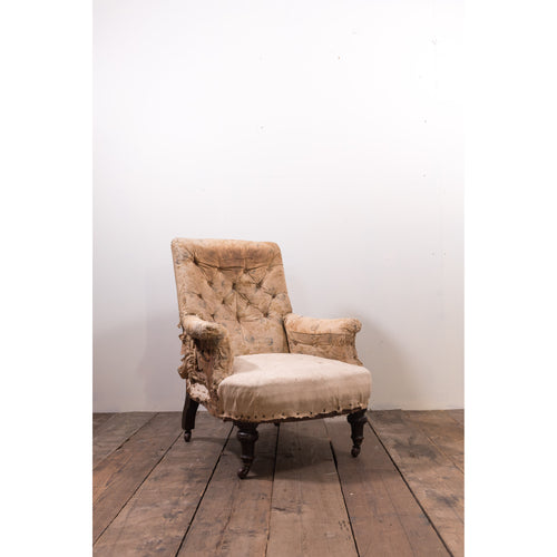 Antique Howard Style Easy Armchair