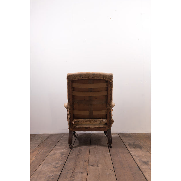 Antique Howard Style Easy Armchair (Sold)