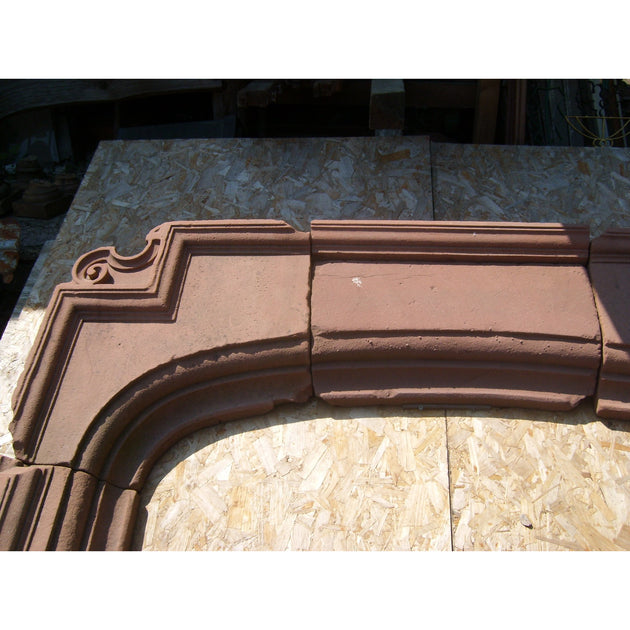 Antique Red Sandstone Chimney piece