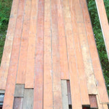 18ft long pine boards reclaimed from a Victorian country house