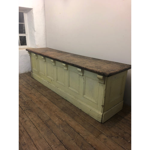 Antique 19th Century Victorian Shop Counter