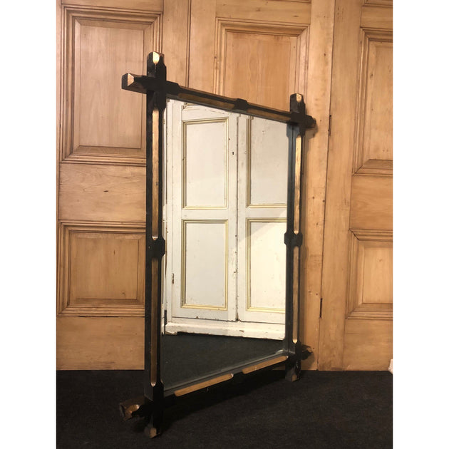 Large Antique Gothic Mirror