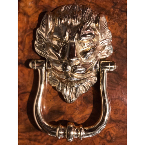 Nickel Lions Head Knocker