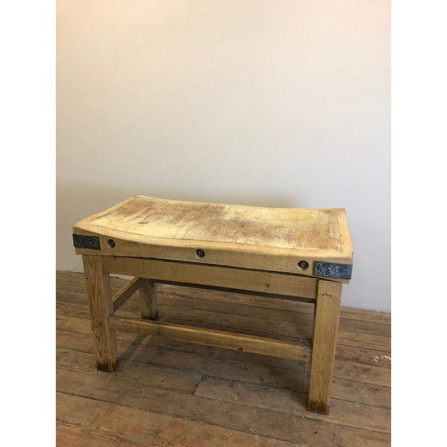 Farmhouse kitchen island butchers block